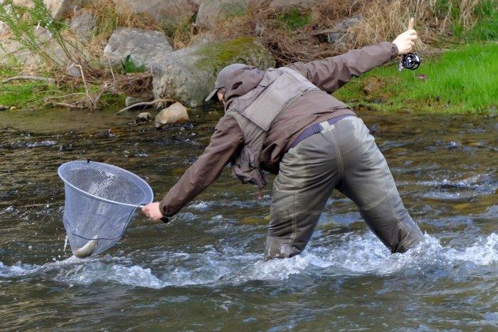 Ilustračný obrázok k článku Rybári z Trenčína a okolia sa činili: Na ktorom potoku chytili najviac pstruhov?