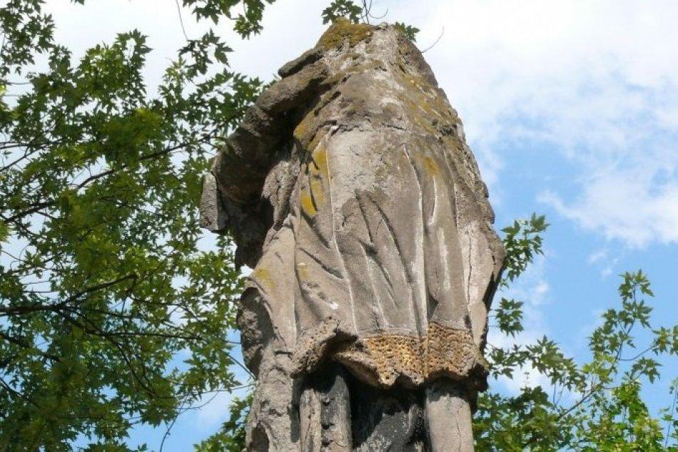 Ilustračný obrázok k článku Významná prievidzská pamiatka je v zlom stave: Nepomuckého sochu chcú zachrániť