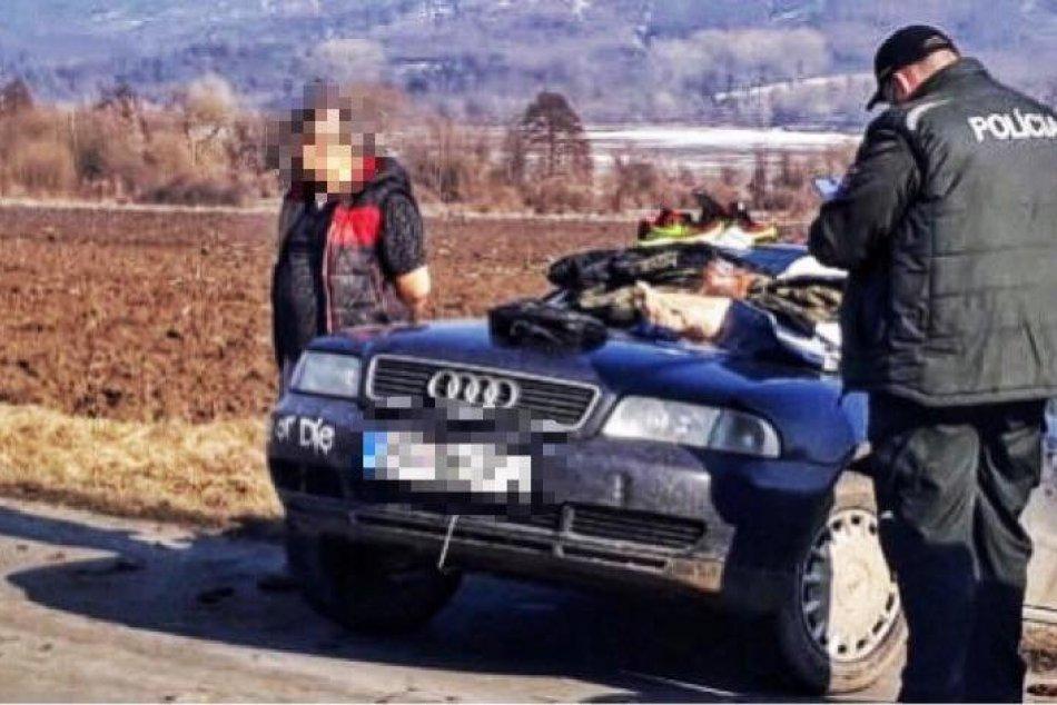 Ilustračný obrázok k článku Neďaleko Lučenca došlo k policajnej naháňačke: Zaznel aj výstrel, FOTO
