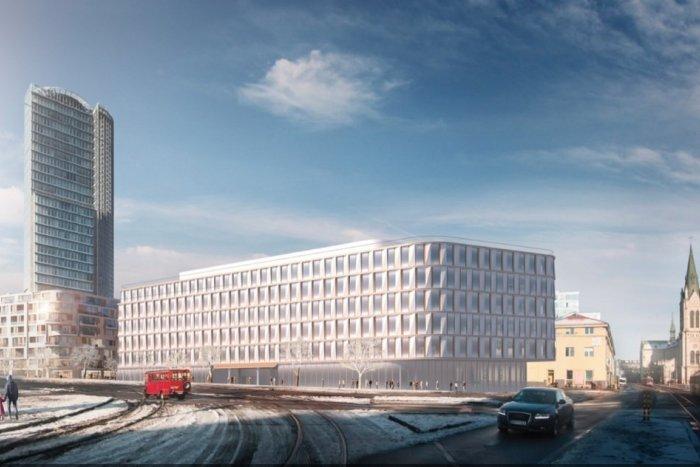 Ilustračný obrázok k článku Centrum Bratislavy sa mení: V blízkosti národnej banky vyrastie moderná stavba Florian Offices