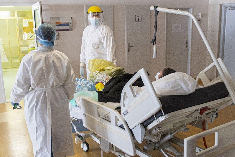 Ilustračný obrázok k článku COVID v nemocniciach rastie, ale nie všade: Kde majú PLNO a kde NULA pacientov?