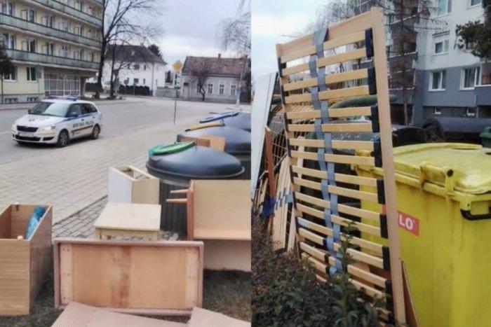 Ilustračný obrázok k článku Mesto dvíha varovný prst: Pri kontajneroch opäť pribudol rozmerný odpad
