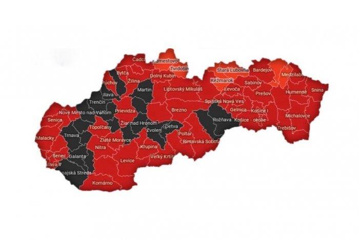Ilustračný obrázok k článku Na Slovensku je 20 okresov, kde je najväčšie riziko šírenia koronavírusu