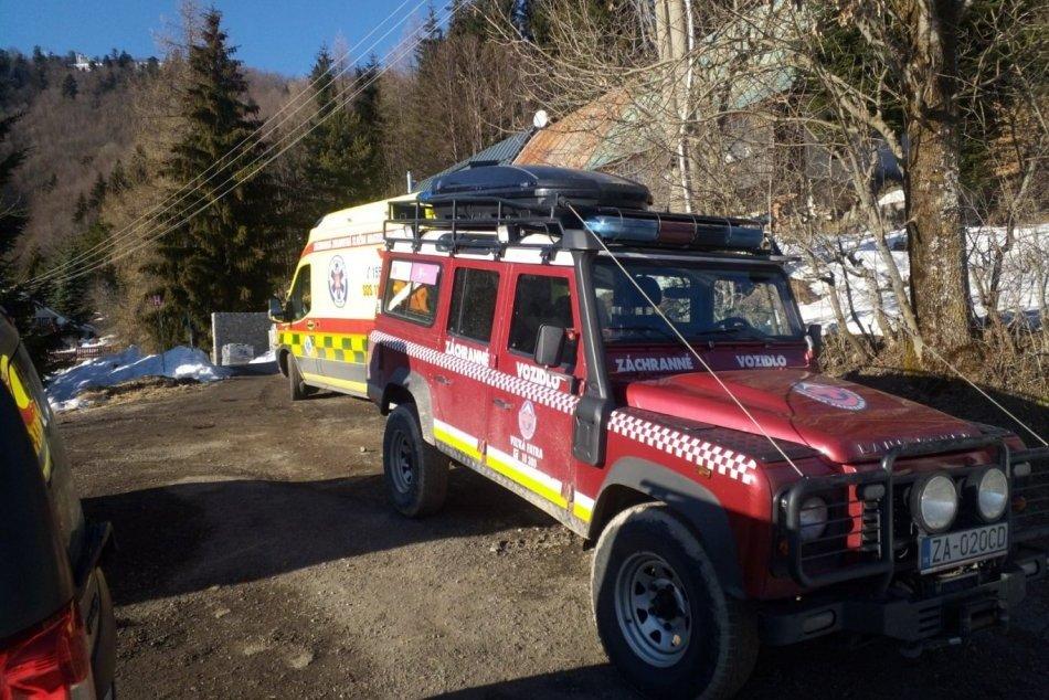 Ilustračný obrázok k článku Zásah horských záchranárov v Oščadnici: V tereňáku našli nehybné telo muža