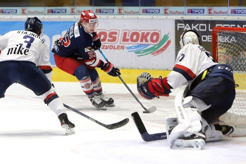 Ilustračný obrázok k článku Cenný triumf na domácom ľade: Zvolenčania otočili zápas so Slovanom, FOTO