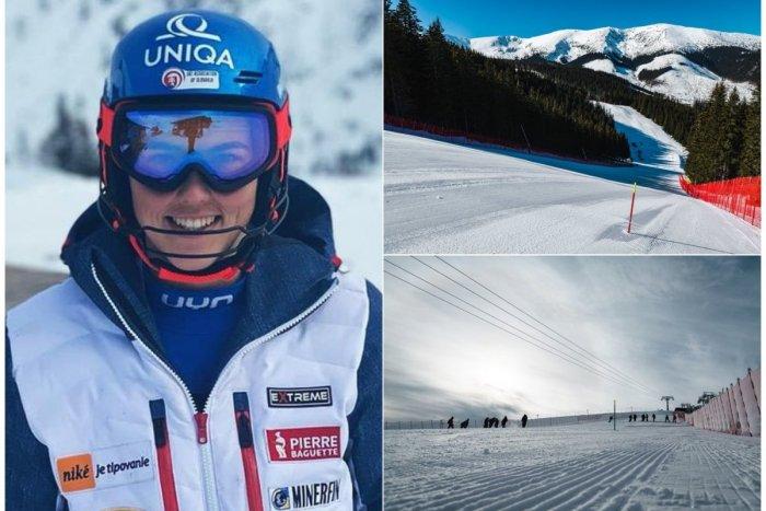 Ilustračný obrázok k článku Vlhovej sa zmenil program: O zlato v slalome na svojej trati zabojuje už ZAJTRA!