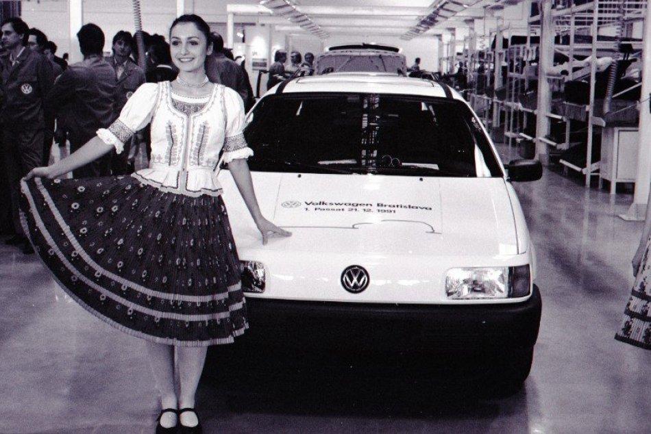 Ilustračný obrázok k článku FOTO: Známa automobilka oslavuje okrúhle výročie výroby v Bratislave. Čo všetko stihla za tri desaťročia?