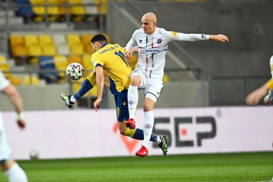 Ilustračný obrázok k článku ViOn v nadstavbe podľahol Dunajskej Strede: Tréner súpera hovorí o ťažkom zápase, FOTO