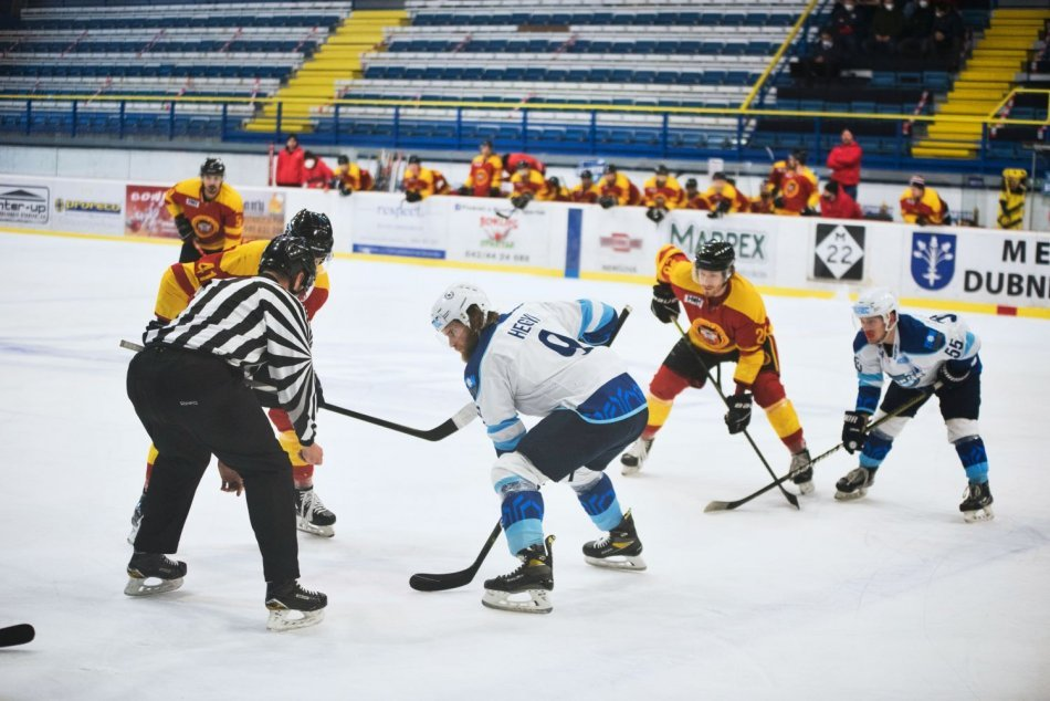 Ilustračný obrázok k článku Hokejisti Topoľčian vybuchli vo štvrťfinále: Sezóna im končí už po štyroch zápasoch