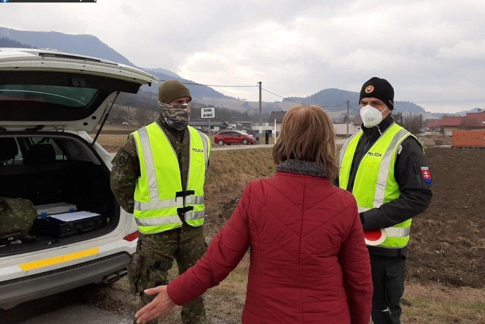 Ilustračný obrázok k článku Kontroly v Považskobystrickom okrese: Policajti si vybrali známe miesto, FOTO