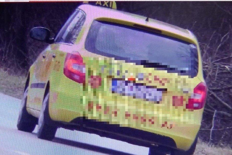 Ilustračný obrázok k článku Taxikár si riadne zavaril: Po Prievidzi jazdil rýchlo a ešte aj opitý, FOTO