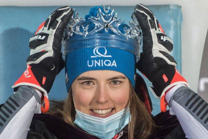 Ilustračný obrázok k článku Úchvatná Vlhová to DOKÁZALA: Získala veľký glóbus a je najlepšou lyžiarkou na SVETE! FOTO