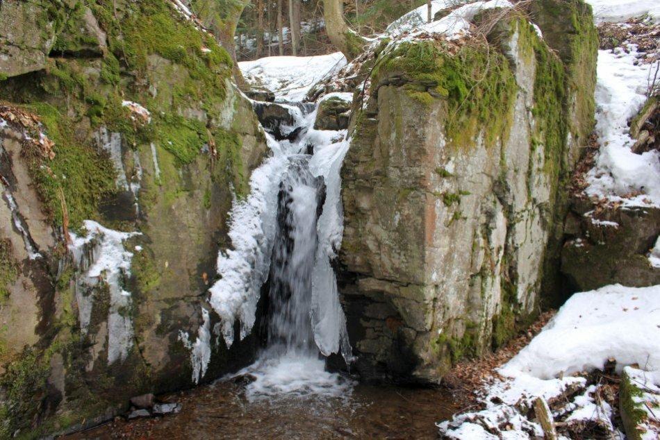 Ilustračný obrázok k článku Krása, ukrytá v lese pri Bystrici: Videli ste už Badínsky vodopád? FOTO