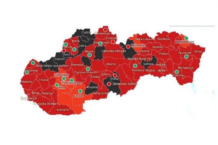 Ilustračný obrázok k článku SKVELÁ správa pre Trnavský kraj: ČIERNE okresy miznú, od pondelka sme v tejto FARBE!