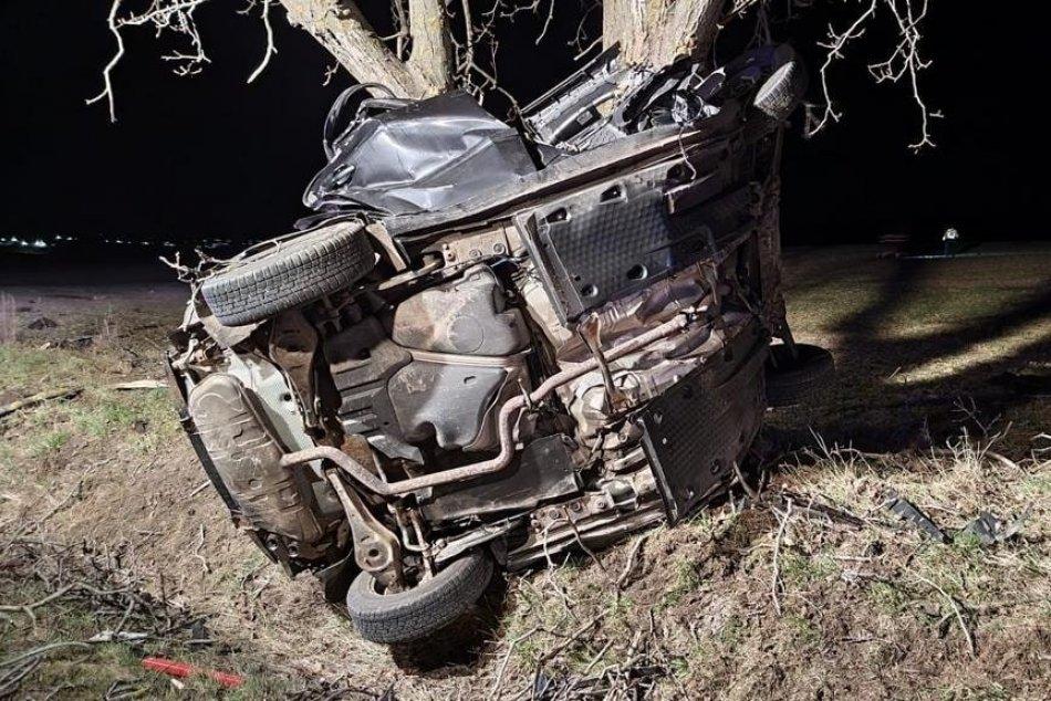 Ilustračný obrázok k článku Nočná tragédia neďaleko Nitry: Pri náraze auta do stromu vyhasol ľudský život