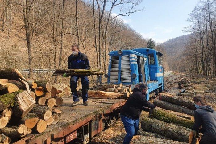Ilustračný obrázok k článku Detskej železnici kradnú drevo. Železnička prosí o pomoc verejnosť