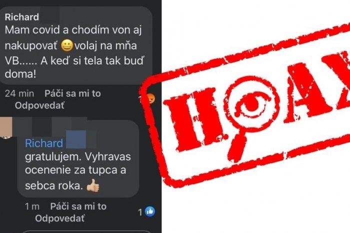Ilustračný obrázok k článku Polícia zasiahla proti šíreniu hoaxu: Na Facebooku frajer, v skutočnosti príkladný občan