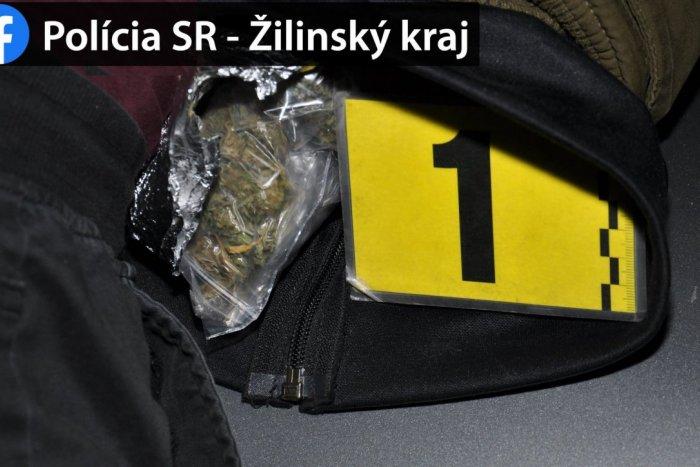 Ilustračný obrázok k článku Žilinskí policajti si posvietili na drogy: Mladík im ich vydal dobrovoľne