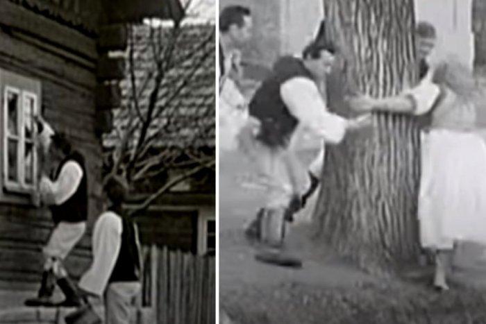 Ilustračný obrázok k článku Veľkonočné VIDEO spred 50 rokov: Ak dievky neotvárali, mládenci chodili oknom!
