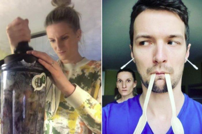 "Ilustračný obrázok k článku VIDEO: Adela Vinczeová ""mluví"", manžel sa smeje: Prvýkrát kompostovala a výsledok?"