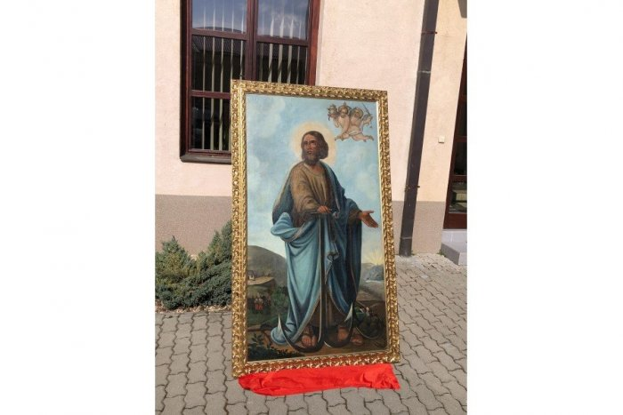 Ilustračný obrázok k článku Ukradnutý obraz sa po desiatkach rokov vracia do Rožňavy: Sledujte, kde ho našli