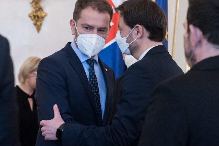 """Ilustračný obrázok k článku Matovič dal """"facku"""" Hegerovi: Stal sa ministrom pre čokoľvek"""