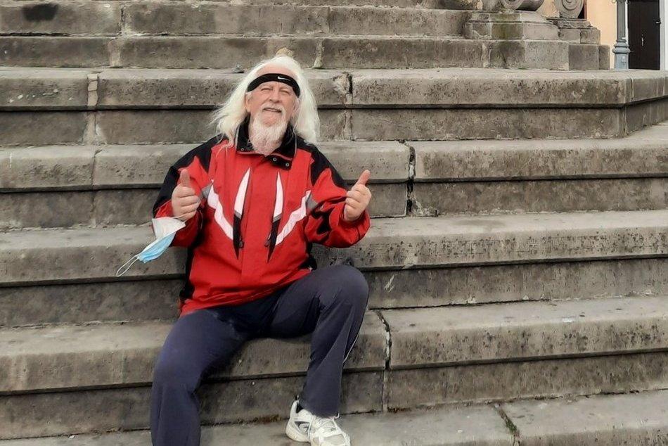 Ilustračný obrázok k článku Miroslav podal úctyhodný výkon: V 67 rokoch dokázal obísť Bystricu, FOTO