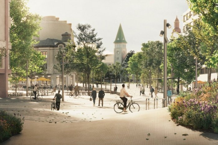 Ilustračný obrázok k článku Námestia v centre Bratislavy čaká poriadna zmena: Zeleň, kamenná dlažba a všetko bez bariér