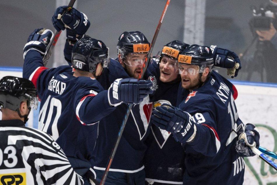 Ilustračný obrázok k článku Hokejisti Slovana nedali Nitre šancu: Ich sen o slovenskom titule je o niečo reálnejší! FOTO