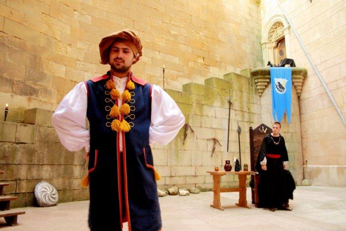 Ilustračný obrázok k článku Povesť o bojnickom kastelánovi: K zámku sa môžete priblížiť cez sluchový zážitok