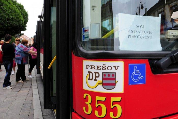 Ilustračný obrázok k článku Odborári dopravných podnikov idú do toho: Prešov sa však zapojí len do podporného štrajku