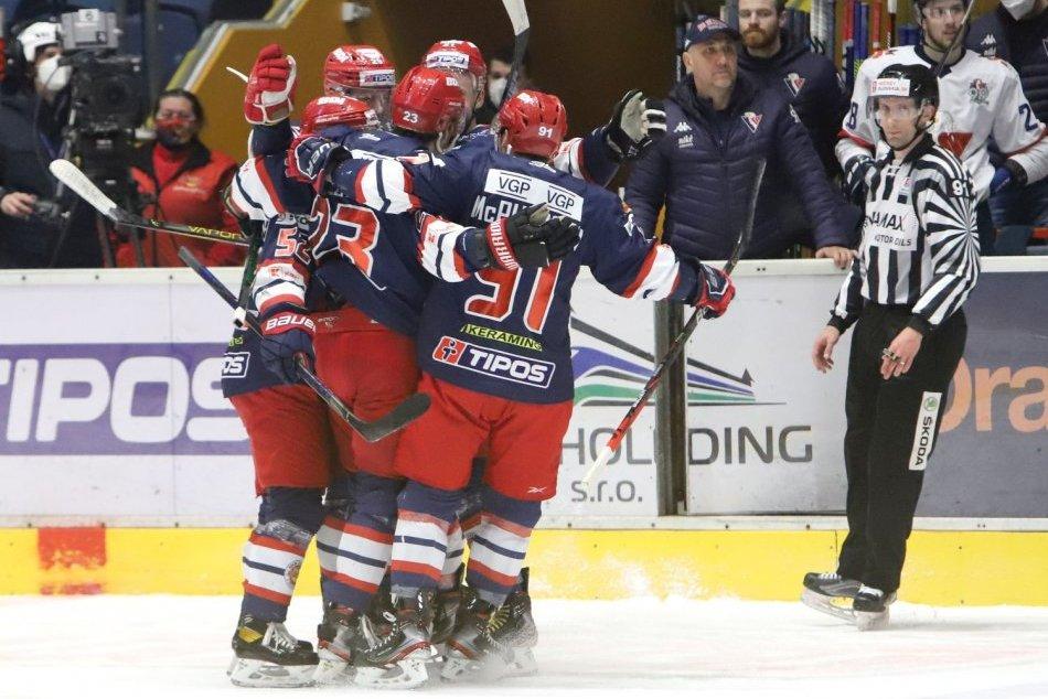 Ilustračný obrázok k článku Zvolen vstúpil do semifinálových bojov víťazne: Slovan padol až po nájazdoch, FOTO
