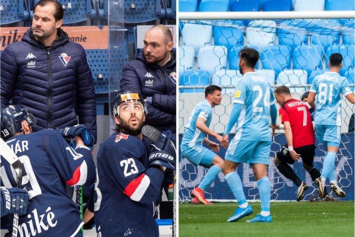 Ilustračný obrázok k článku ČIERNA sobota v podaní bratislavských klubov: Slovan vyhorel na ľade aj na trávniku!