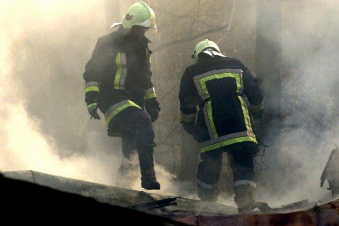 Ilustračný obrázok k článku Požiar na Luníku IX: Plamene zasiahli osem bytov, ľudí museli evakuovať