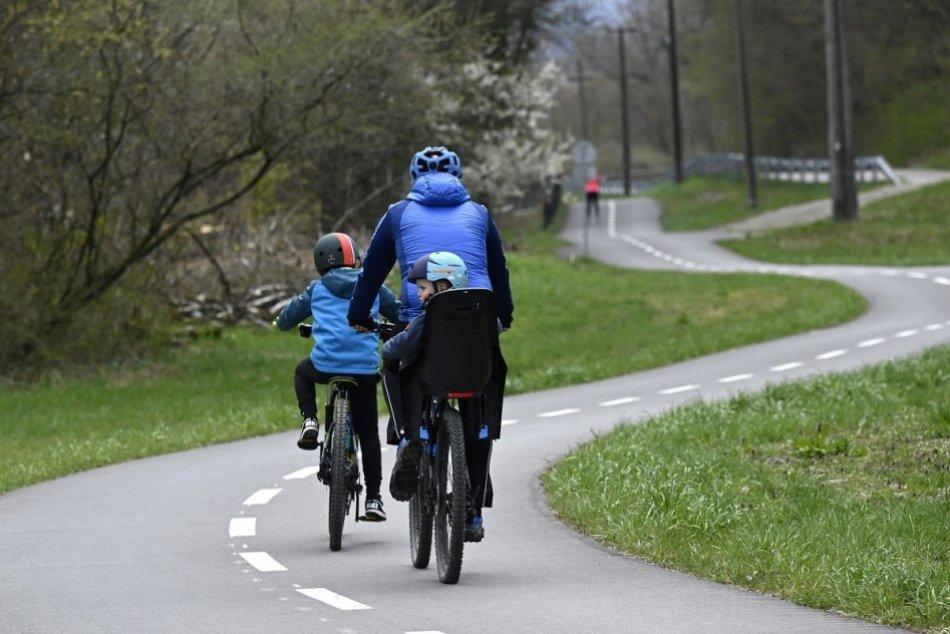 Ilustračný obrázok k článku Cyklisti sa potešia: Príprava plánovanej cyklotrasy zo Zvolena pokračuje