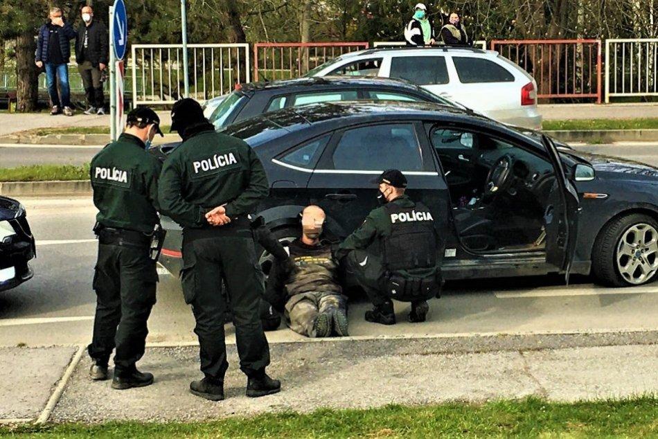 Ilustračný obrázok k článku Šialená naháňačka začala v Považskom Chlmci: Žilinčanovi hrozí 10 rokov väzenia!