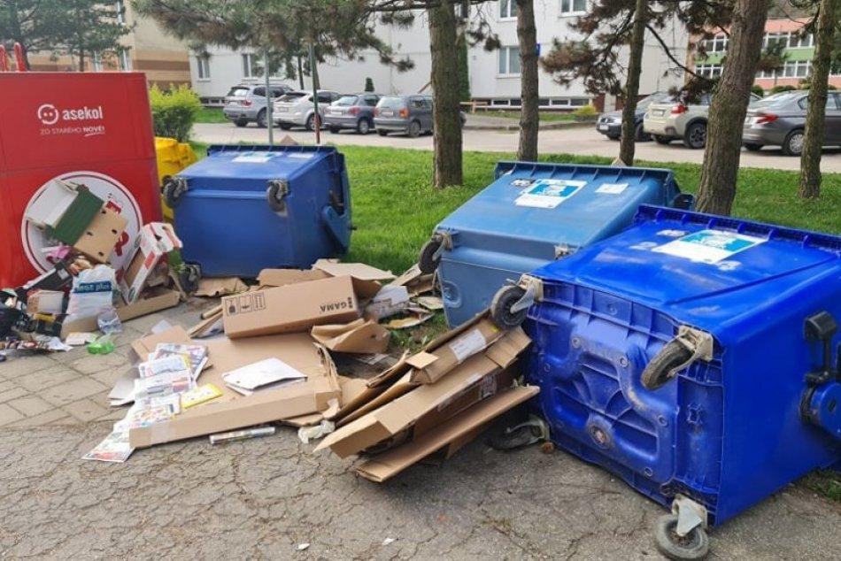 Ilustračný obrázok k článku Trenčianskymi Teplicami sa prehnali vandali: V meste po sebe nechali spúšť, FOTO
