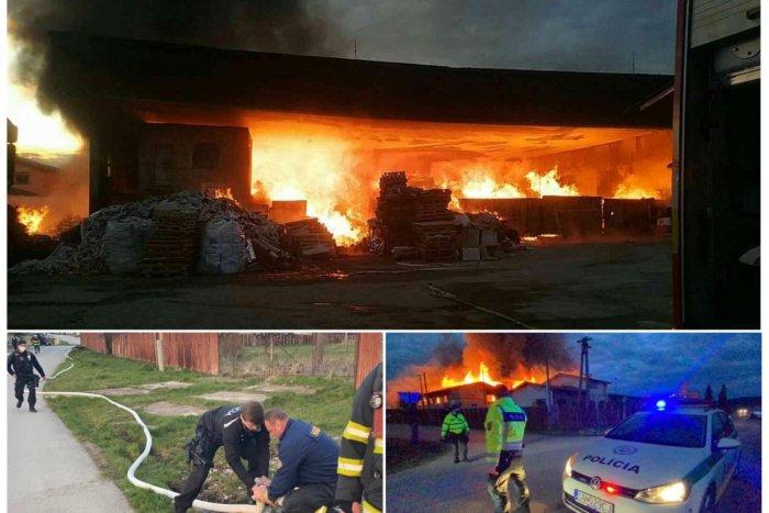 Ilustračný obrázok k článku HASIČI majú plné ruky práce: Na Záhorí horí rúbanisko, na východe družstvo! FOTO