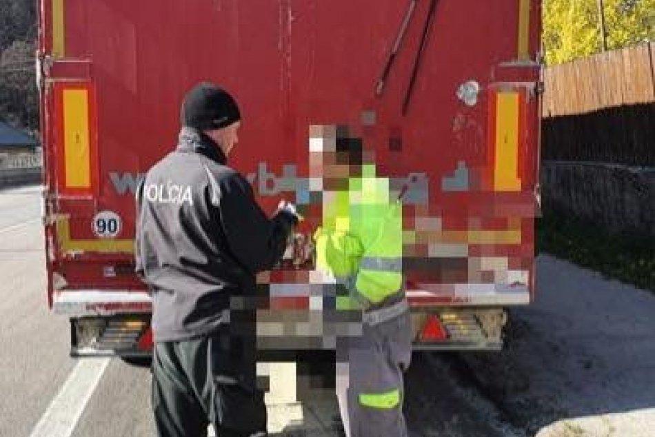 Ilustračný obrázok k článku Po Prešove sa premával na mol opitý kamionista: Neskutočné, koľko mu namerali policajti