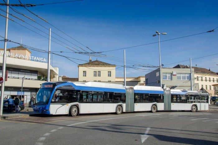 Ilustračný obrázok k článku Trolejbusové monštrá v uliciach Bratislavy. Jazdiť s nimi budú iba tí najodvážnejší šoféri!