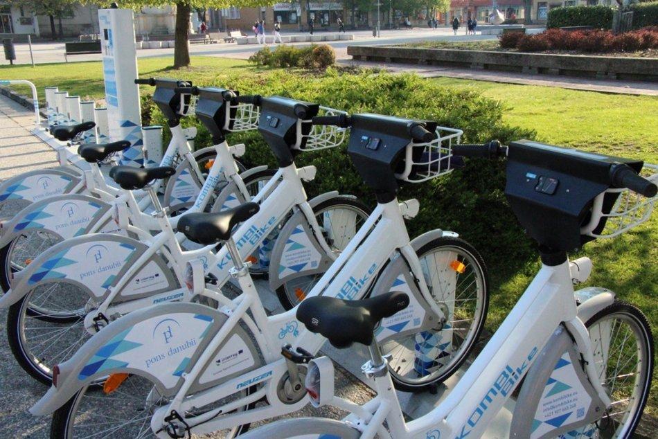 Ilustračný obrázok k článku Nové Zámky testujú zdieľané bicykle: Kedy sa dočká aj verejnosť? FOTO
