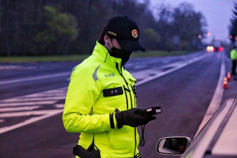 Ilustračný obrázok k článku V Žiline chytili vodiča z okresu Topoľčany: Prekročil rýchlosť a jazdil pod vplyvom