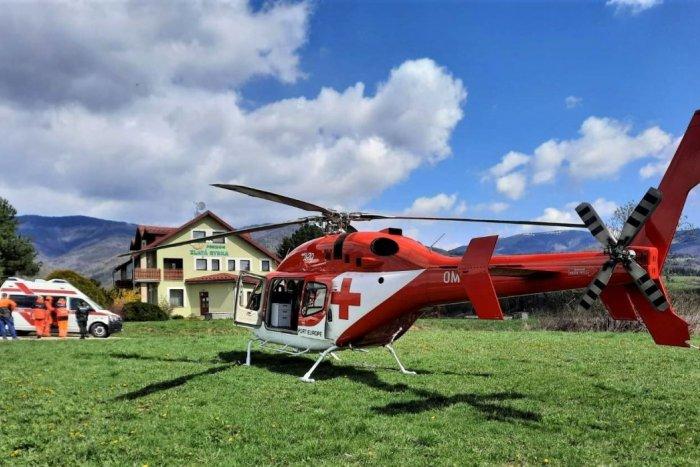 Ilustračný obrázok k článku Na Horehronie letel záchranársky vrtuľník: Pilčíka zasiahol strom