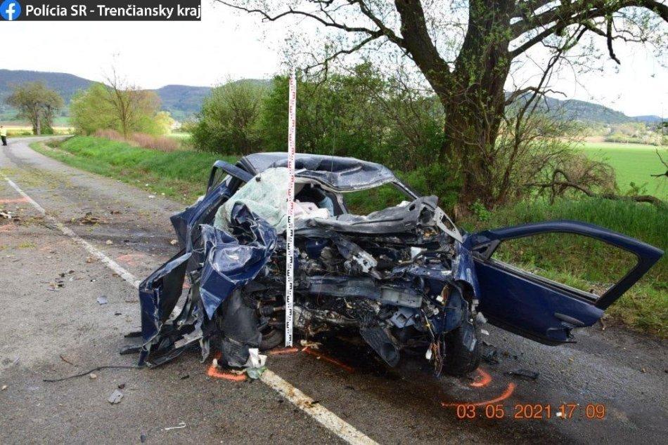 Ilustračný obrázok k článku Policajti o tragédii v Novej Dubnici: Nehoda mala pre mladíka fatálne následky, FOTO