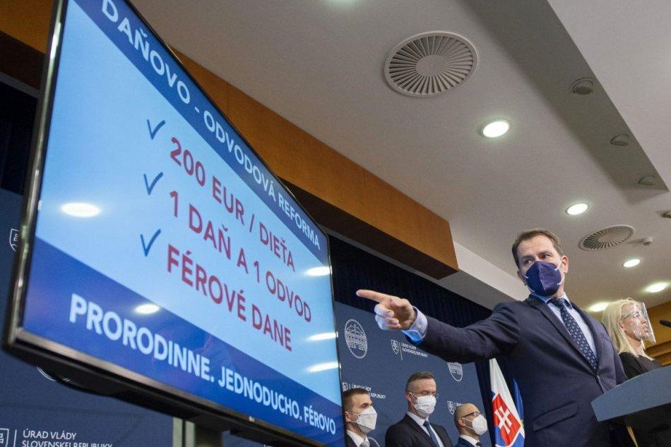 Ilustračný obrázok k článku Strana Hlas reaguje na ministra financií: Matovič nepredstavil žiadnu reformu!