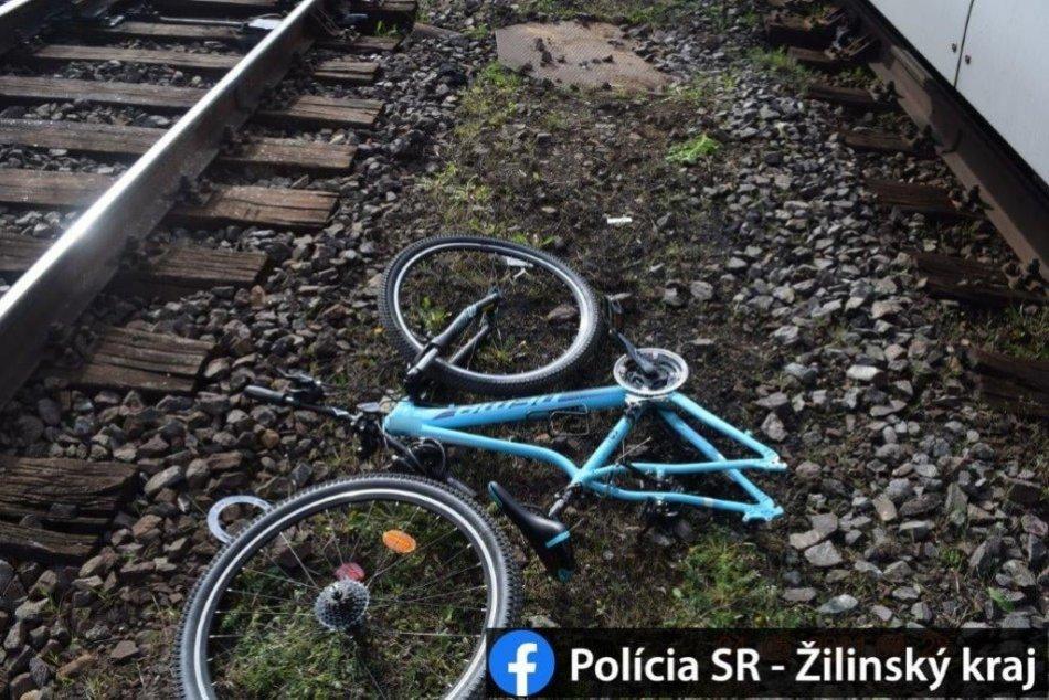 Ilustračný obrázok k článku Nehoda v Likavke: Mladá cyklistka narazila na priecestí do prechádzajúceho vlaku, FOTO