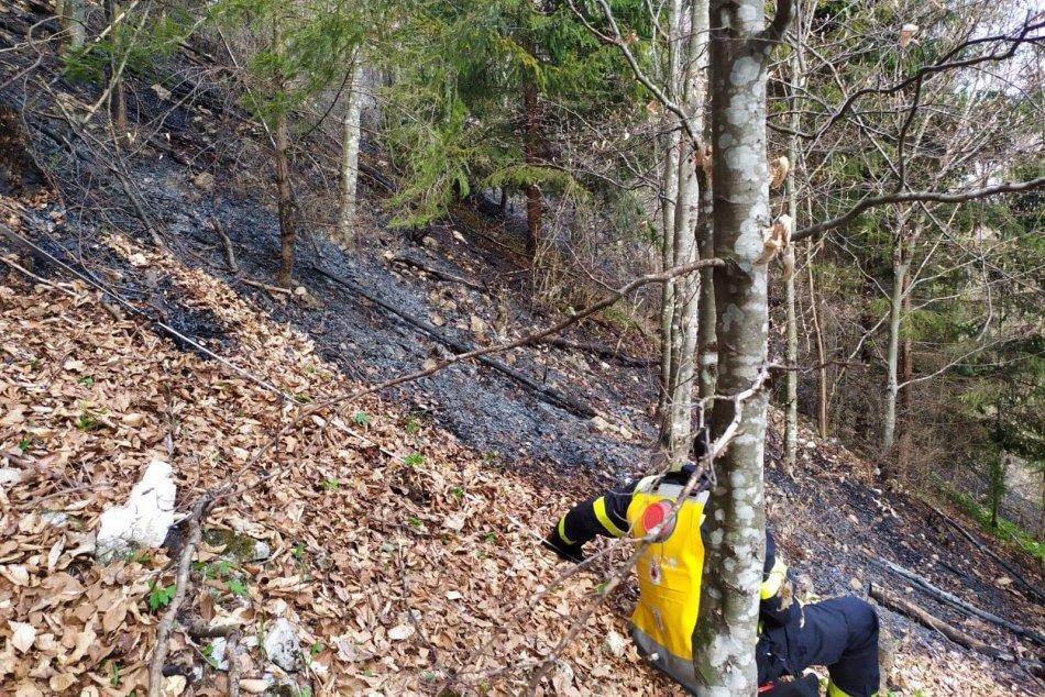 Ilustračný obrázok k článku Desiatky hasičov v akcii: Požiar sa rozhorel v náročnom teréne sedla Zbojská, FOTO
