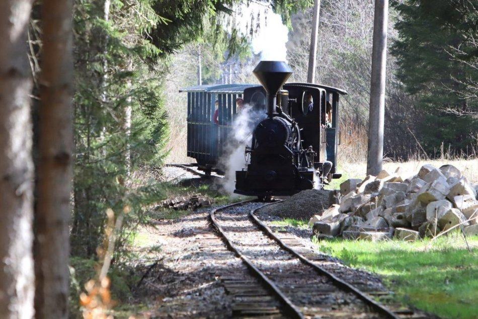 Ilustračný obrázok k článku Čiernohronskej železnici sa ušlo milej pocty: Dostala sa na špeciálnu bankovku, FOTO