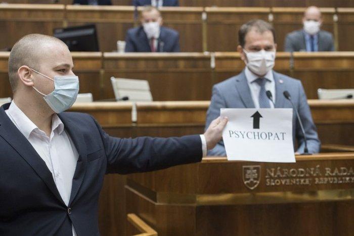 Ilustračný obrázok k článku Sú poslanci duševne spôsobilí? Mazurek a odídenci od Kotlebu to chcú čierne na bielom!