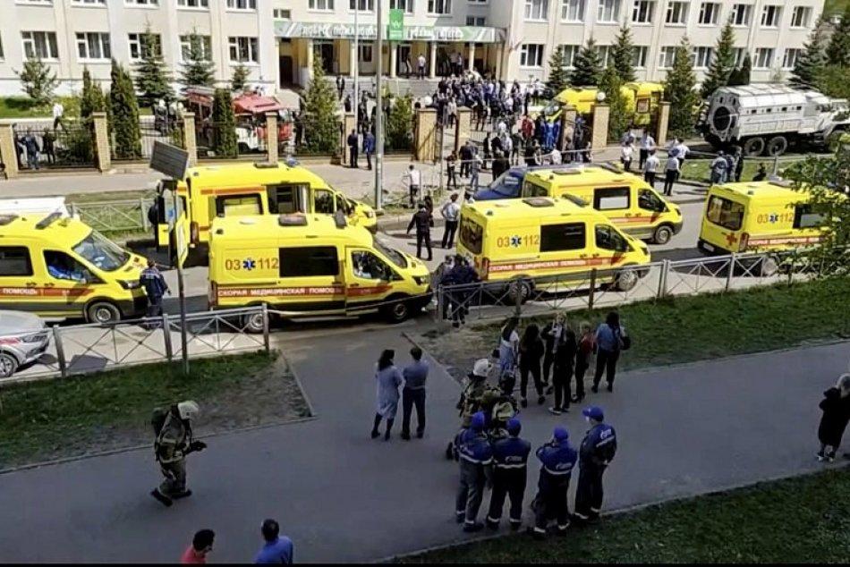 Ilustračný obrázok k článku Krvavá streľba na škole v Rusku: Medzi obeťami sú učitelia aj DETI!